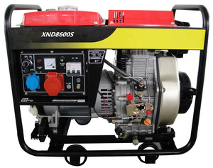 SJ8600S 8KW Diesel generator with three-phase
