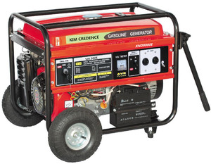 KT10000E 8.5KVA Gasoline generator whith electric start and single phase