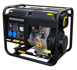 SJ6500E 5KW Diesel generator electric start